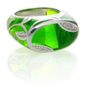 """""""Leaf"""" ring"""