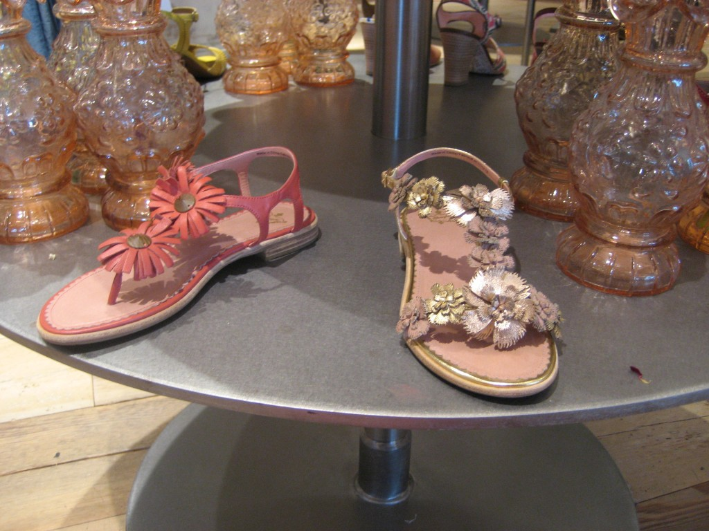Sandals at Anthropologie