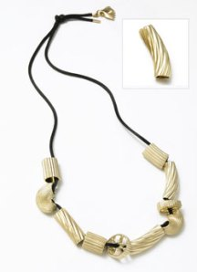 Jennifer Kellog Noodle necklace. From jenniferkellog.com.